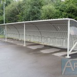 Alpha Bike Shelters – Apex Shelters