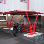 Delta P Motorcycle/Cycle Shelter
