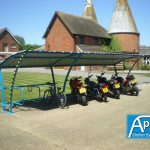 Beta P iR-iMc Cycle Shed and Motorbike Shelter