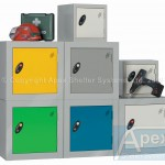 Helmet Lockers – by Apex Shelters