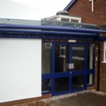 Orkney Glass Entrance Canopy Door Shelter