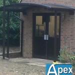 Braemar Entrance Door Canopy