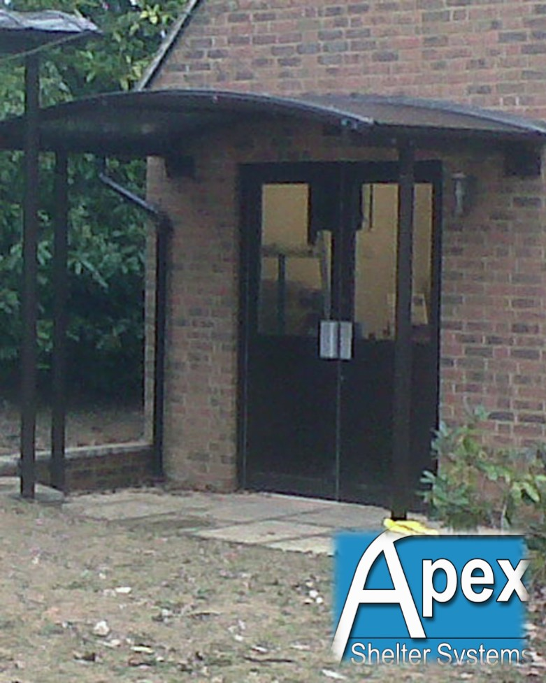 Entrance Canopy - Breamar by Apex Shelter Systems & Door Canopy - Breamar Design by Apex SheltersApex Shelters