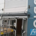 Suspended Entrance Canopies – Newport Entrance Canopy