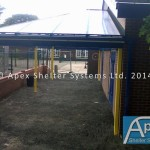 Image Gallery of Bespoke Entrance Canopies, Walkways and Linkways
