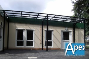 Free Standing Canopy - Apex Shelter Systems