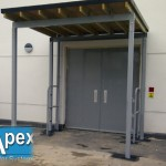 Image Gallery of Bespoke Entrance Canopies, Walkways and Linkways