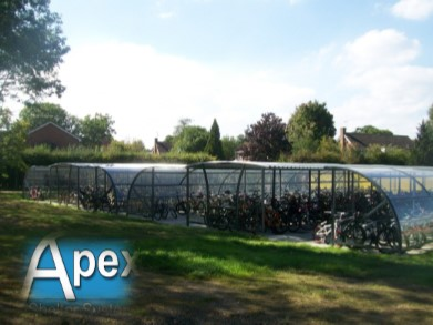 Cycle Shelters - Alpha Gamma Compound