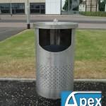 Kappa lb3 Stainless Steel Litter Bin