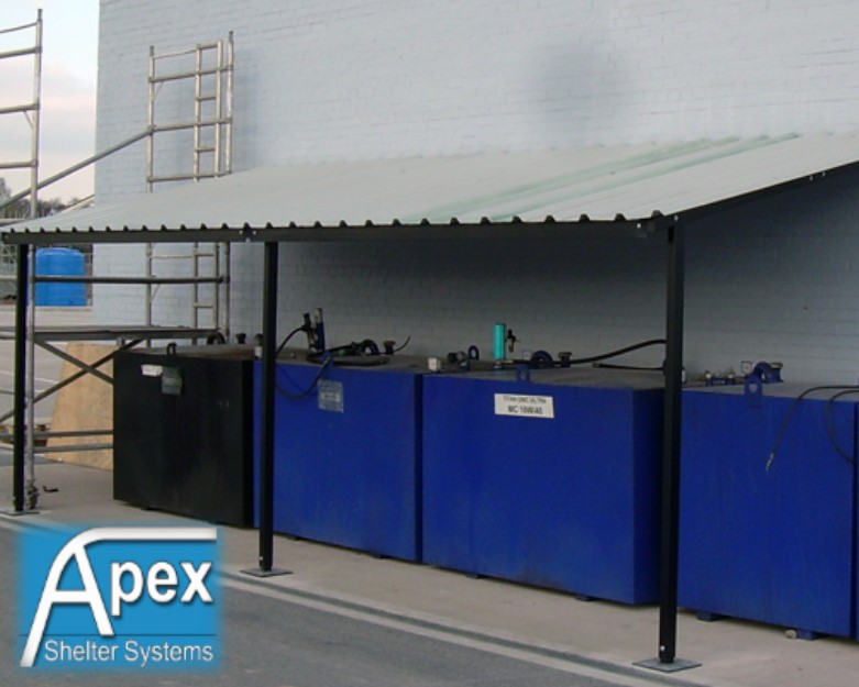 Lean To Shelter Or Lean To Canopy Apex Sheltersapex Shelters