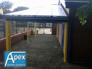 Lowton Entrance Canopy